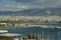 Athen vom Hafen aus