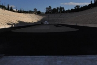 Das alte Olympiastadion