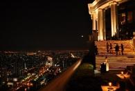 Bangkok von ... einer sehr netten Roof Top Bar