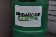 Singapur ist noch immer müllfrei