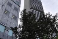 Das Bürogebäude steht auch noch