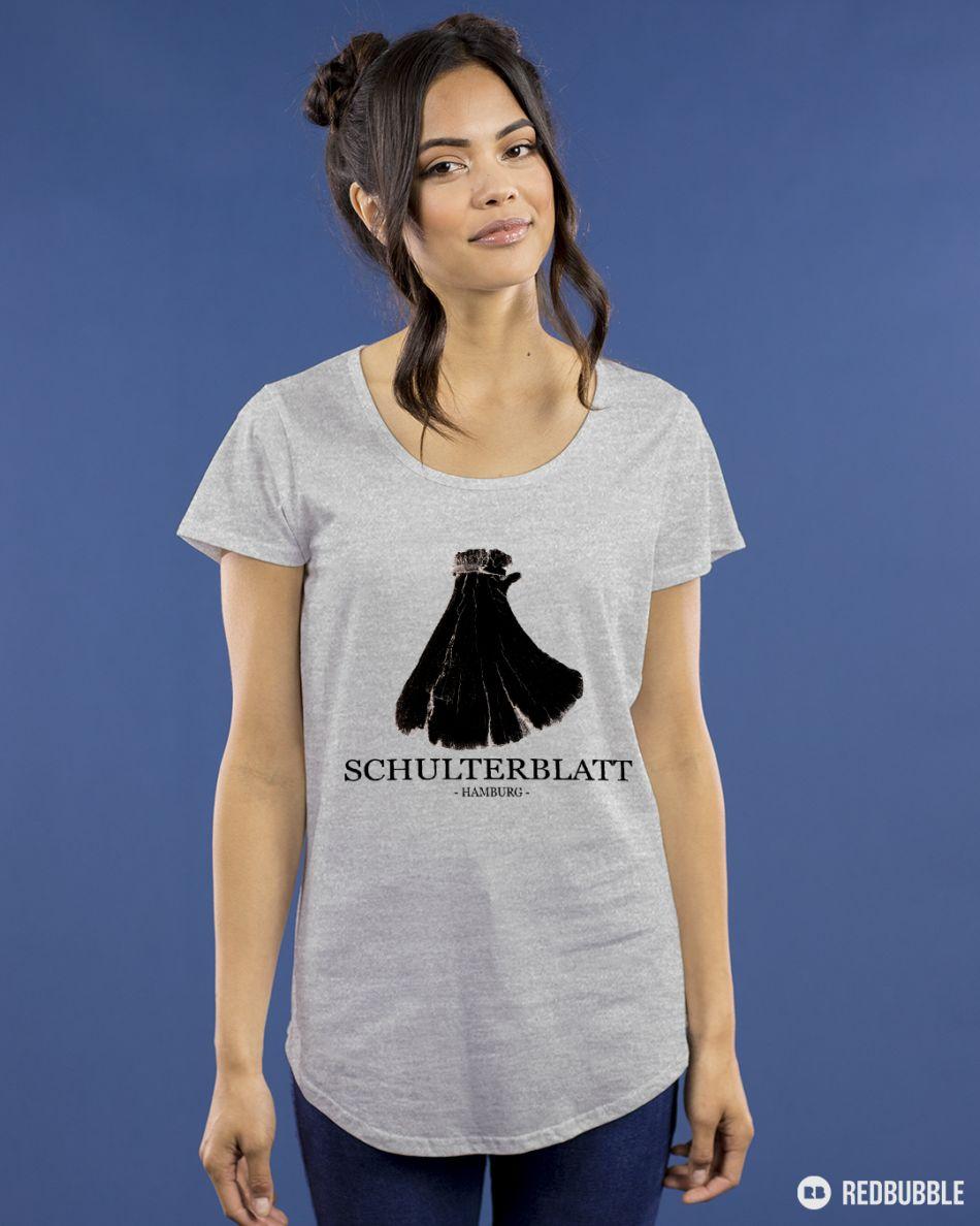 Schulterblatt - Kecke Frau