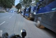 Mi 5.7. - Fahrradtour durch die verrammelte Innenstadt