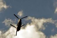 Do. 6.7. - Vom Büro aus: Chinook-Helikopter aus dem Trump-Geschwader
