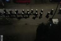 Do 6.7. - Vom Balkon: eine Hundertschaft joggt vorbei