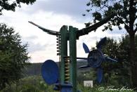 Abi-Denkmal des Jahrgangs XY auf dem Schulgelände