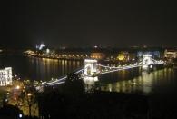 Die Kettenbrücke und das Parlament im Hintergrund