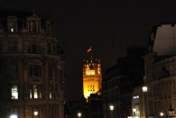 Turm vom Parliament House Whitehall/Parliament Street runter vom Trafalgar Square aus