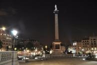 Trafalgar Square mit Nelson's Säule