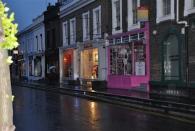 Notting Hill bei Regen - so hatte ich mir London eigentlich vorgestellt :)