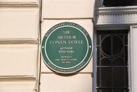Der Vater Sherlock Holmes wohnte einst hier