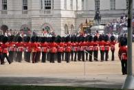 Erst als die Parade für den Geburtstag der Queen interpretiert...