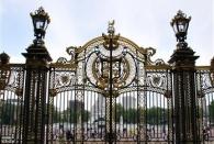Tor zum Platz vorm Buckingham Palace