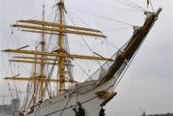 Die Gorch Fock - nach 20 Jahren mal wieder in Hamburg