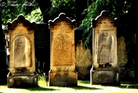 Ein namenloser jüdischer (?) Friedhof bei mir um die Ecke