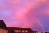 Regenbogen über Altona