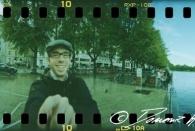 Allererstes Foto mit der neuen 360° Kamera an den Altonaer Terrassen